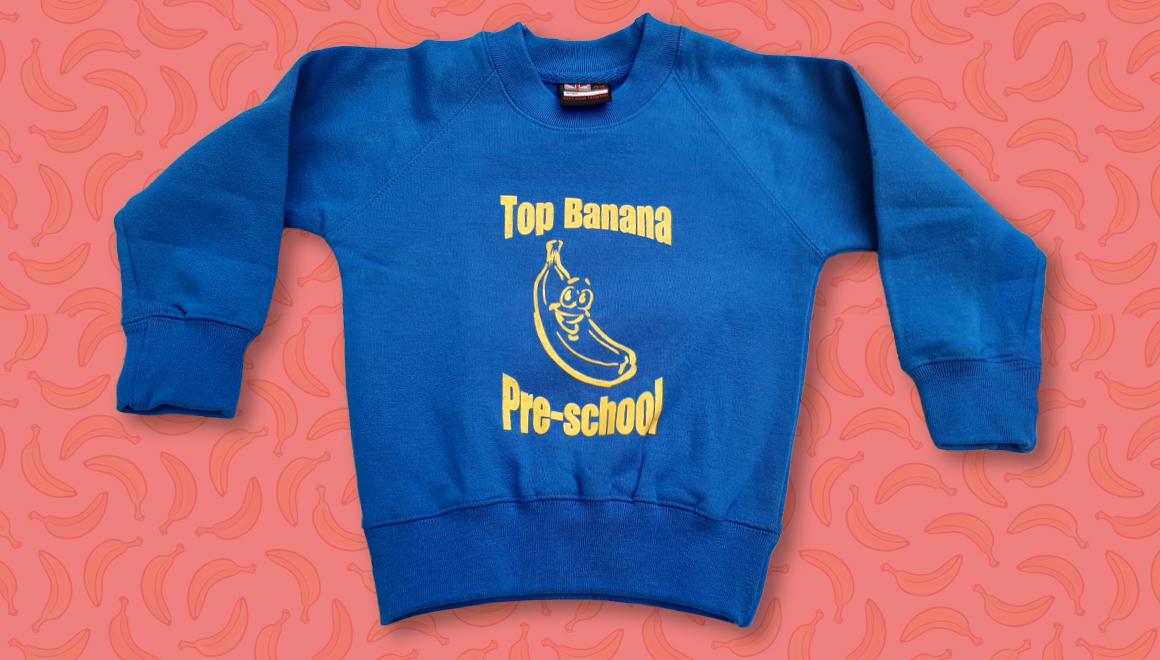 Top Banana Pre-School Sweatshirt